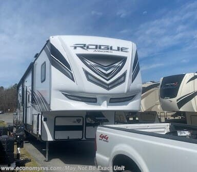 New 2021 Forest River Vengeance Rogue Armored 4007 For Sale by Economy RVS, LLC available in Mechanicsville, Maryland