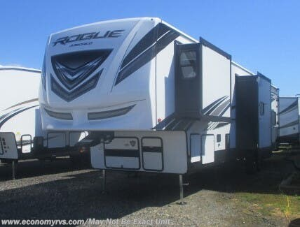 New 2021 Forest River Vengeance Rogue Armored 351 For Sale by Economy RVS, LLC available in Mechanicsville, Maryland