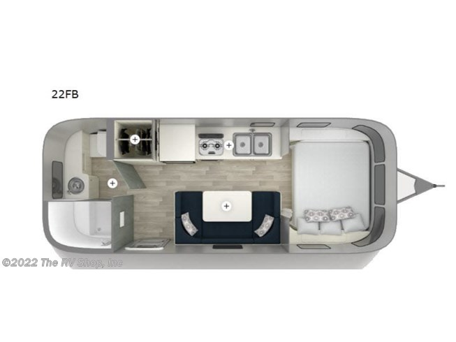 2020 Airstream Bambi 22FB - New Travel Trailer For Sale by The RV Shop, Inc in Baton Rouge, Louisiana