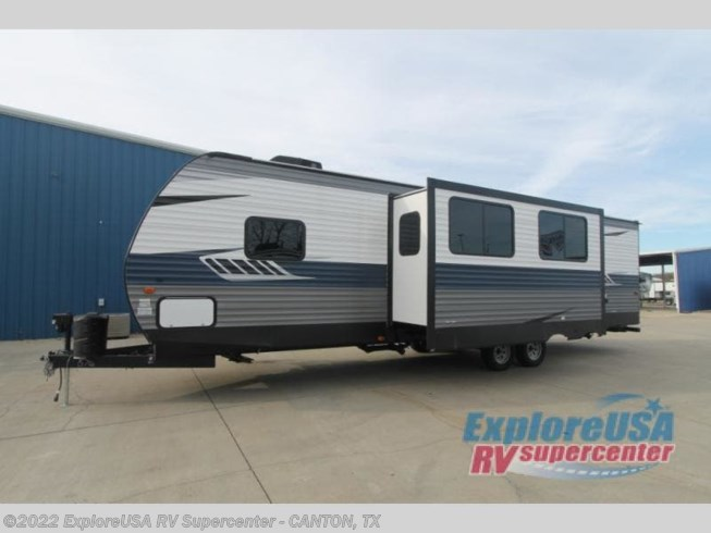 2019 CrossRoads Zinger ZR326BH - New Travel Trailer For Sale by ExploreUSA RV Supercenter - CANTON, TX in Wills Point, Texas features Slideout