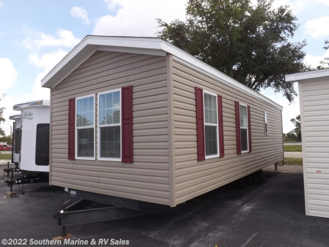 2019 Skyline Palm Bay 2610 - New Park Model For Sale by Southern Marine & RV Sales in Ft. Myers, Florida features Water Heater, Screen Door, Refrigerator, Oven, Stove