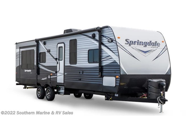 Stock Image for 2019 Keystone Springdale 262RK (options and colors may vary)