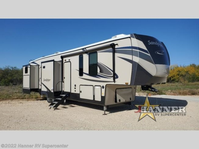 New 2021 Forest River Sandpiper 384QBOK available in Baird, Texas