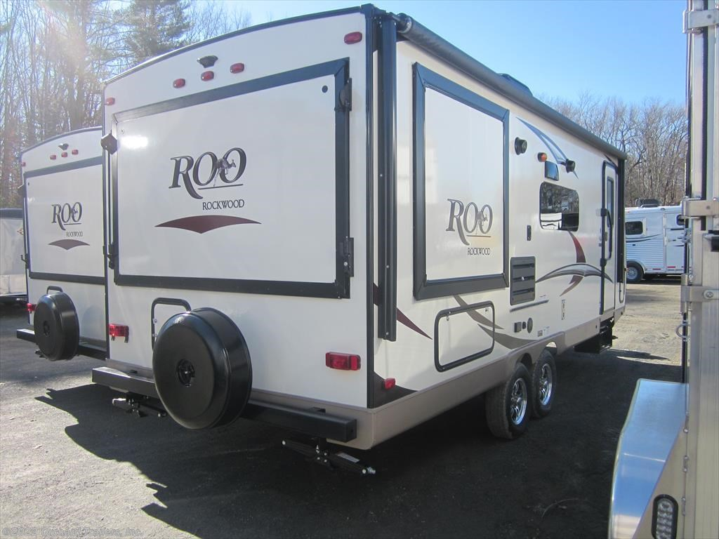 New Forest River Rockwood Roo Expandable Trailer ...