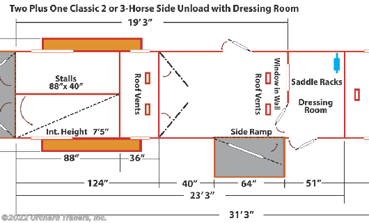 Horse Trailer - 2020 Kingston Classic Elite 2+1 available New in Whately, MA