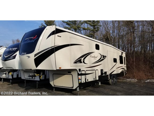New 2020 Forest River Cardinal Luxury 345RLX available in Whately, Massachusetts