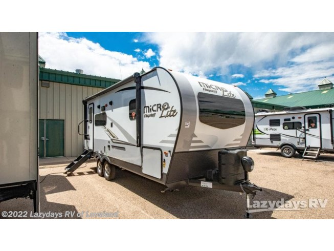 New 2021 Forest River Flagstaff Micro Lite 22FBS available in Loveland, Colorado