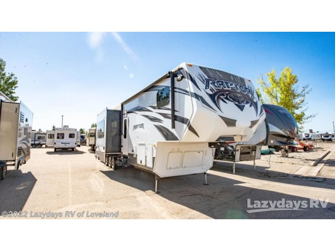 Used 2014 Keystone Raptor 410LEV available in Loveland, Colorado