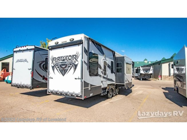 2014 Keystone Raptor 410LEV - Used Fifth Wheel For Sale by Lazydays RV of Loveland in Loveland, Colorado