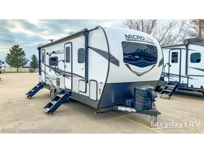 New 2021 Forest River Flagstaff Micro Lite 25FBLS available in Loveland, Colorado