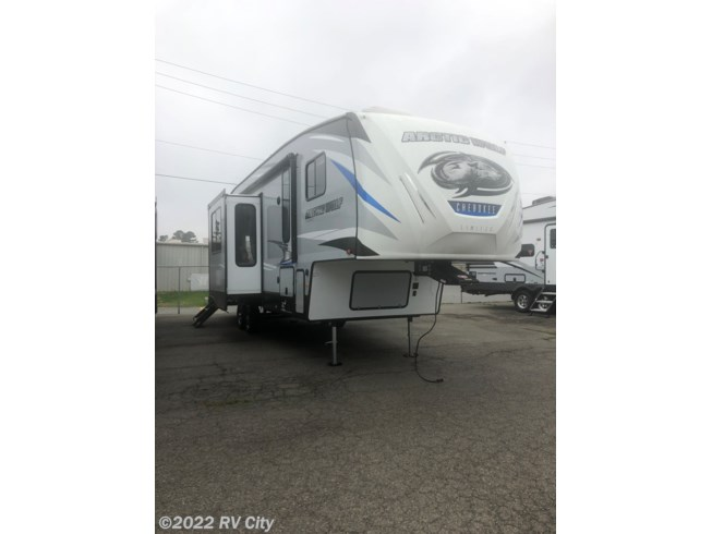 2020 Forest River Cherokee Arctic Wolf 311ML - New Fifth Wheel For Sale by RV City in Benton, Arkansas features External Shower, Ceiling Fan, Water Heater, Oven, Medicine Cabinet