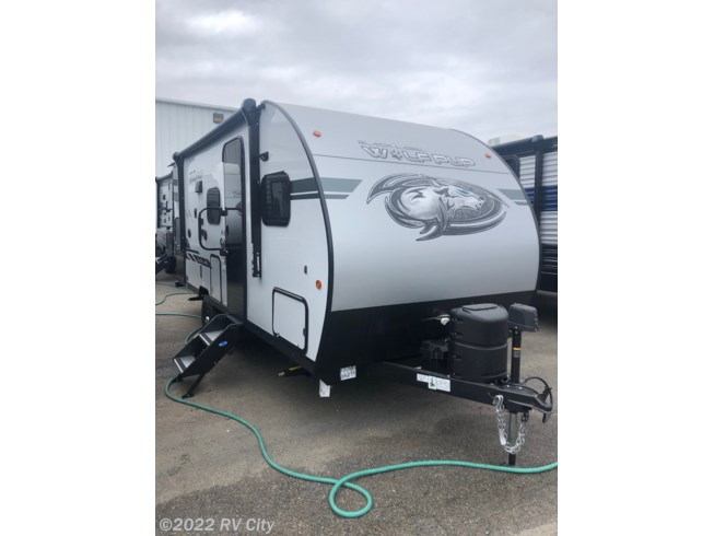 2021 Forest River Cherokee Wolf Pup 17JGBL - New Travel Trailer For Sale by RV City in Benton, Arkansas features Queen Bed, Water Heater, External Shower, Auxiliary Battery, Microwave
