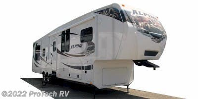 Stock Image for 2012 Keystone Alpine 3450RL (options and colors may vary)