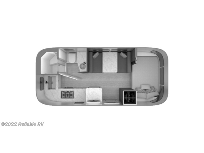 2021 Airstream Caravel 20FB - New Travel Trailer For Sale by Reliable RV in Springfield, Missouri