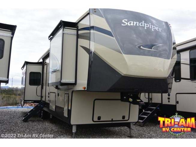 New 2020 Forest River Sandpiper 368FBDS available in Bulls Gap, Tennessee