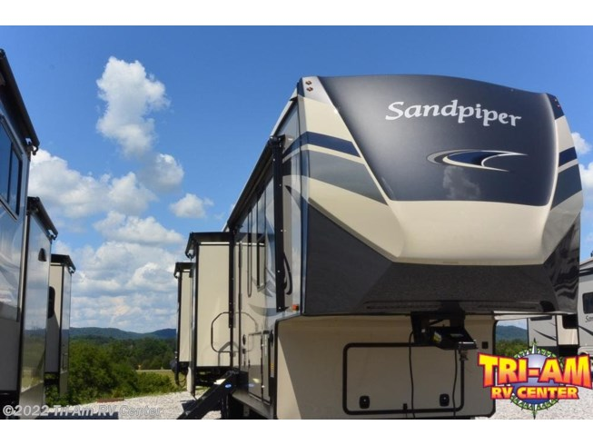 New 2021 Forest River Sandpiper 384QBOK available in Bulls Gap, Tennessee