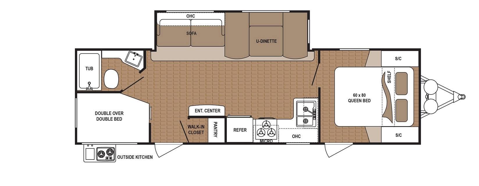 2019 Dutchmen Rv Aspen Trail 2790 Bhs For Sale In Apollo Pa 15613 Dutchman Pop Up Camper Wiring Diagram Previous