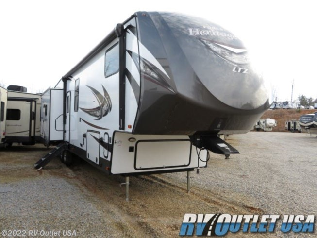 2019 Forest River Wildwood Heritage Glen 370BL