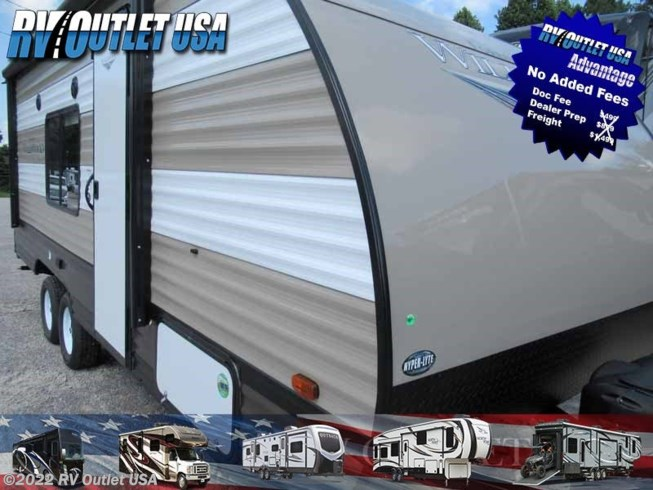 2019 Forest River Wildwood X-Lite 201BHXL