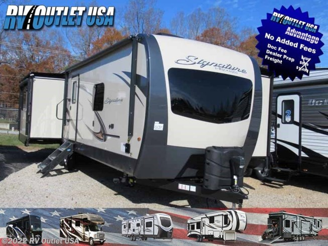 2019 Forest River Rockwood Signature Ultra Lite 8329SS
