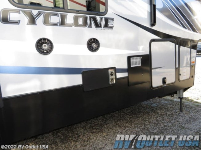 2019 Heartland Rv Cyclone 4101 King For Sale In Ringgold