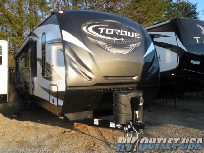 2019 Heartland  Torque T333   (2ND A/C ** RAMP DOOR PATIO!)