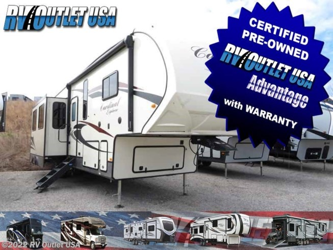 2019 Forest River Cardinal Explorer 383BH
