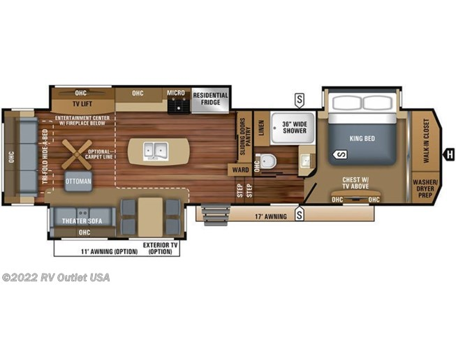 2020 Jayco Pinnacle 36KPTS