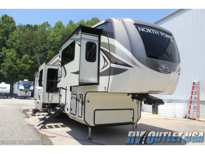 Used 2018 Jayco North Point 381FLWS available in Ringgold, Virginia
