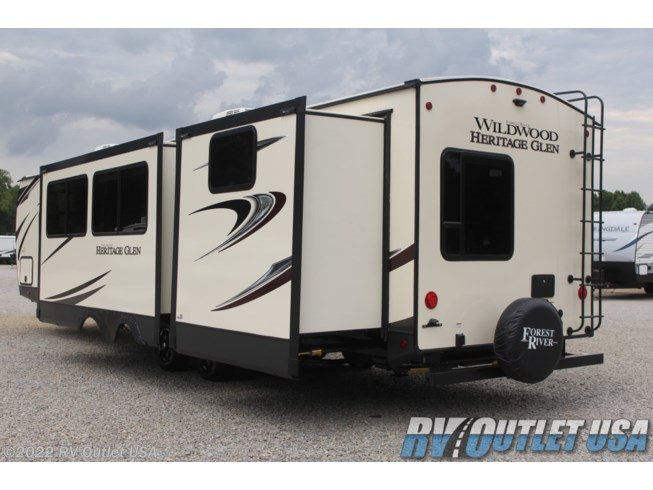 2021 Wildwood Heritage Glen 314BUD by Forest River from RV Outlet USA in Ringgold, Virginia
