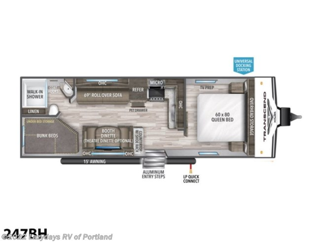 New 2021 Grand Design Transcend Xplor 247BH available in Milwaukie, Oregon