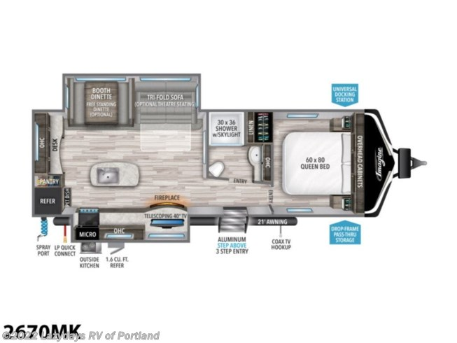New 2021 Grand Design Imagine 2670MK available in Milwaukie, Oregon