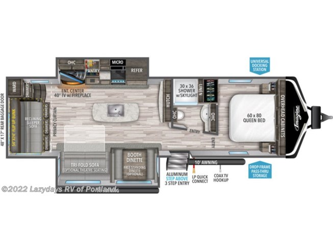 2021 Grand Design Imagine 3110BH - New Travel Trailer For Sale by B Young RV in Milwaukie, Oregon