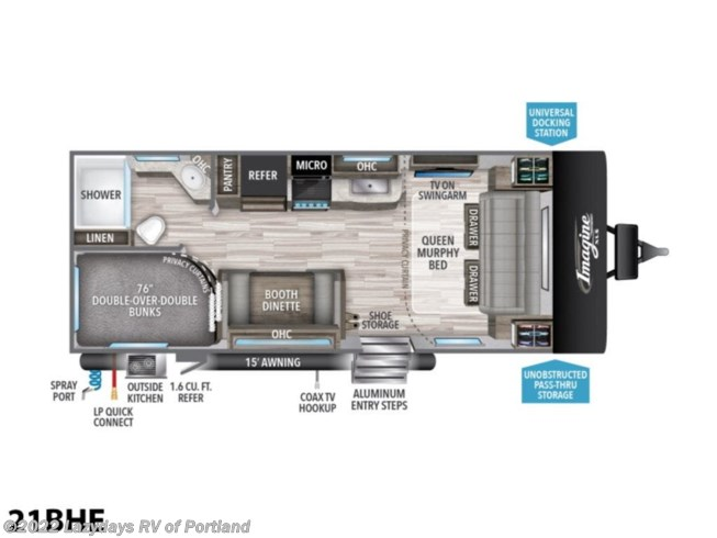 New 2021 Grand Design Imagine XLS 21BHE available in Milwaukie, Oregon