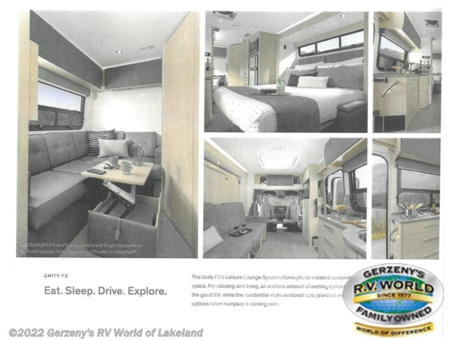 2021 Unity by Leisure Travel from Gerzeny's RV World of Lakeland in Lakeland, Florida
