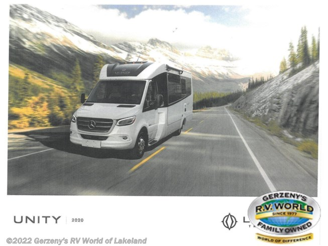 2021 Leisure Travel Unity - New Class B For Sale by Gerzeny's RV World of Lakeland in Lakeland, Florida