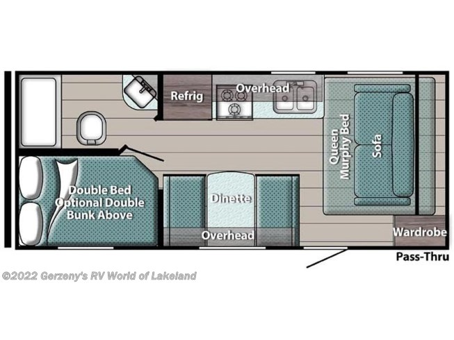 2021 Gulf Stream Conquest Super Lite - New Travel Trailer For Sale by Gerzeny's RV World of Lakeland in Lakeland, Florida