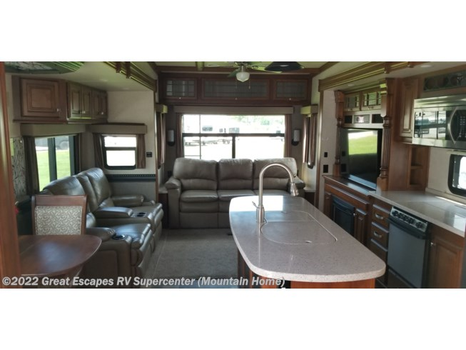 2016 Heartland Bighorn 3875FB - Used Fifth Wheel For Sale by Great Escapes RV Supercenter in Gassville, Arkansas