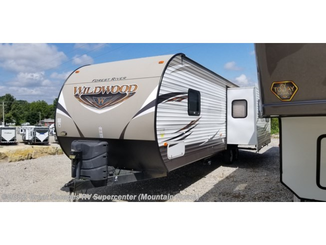 Used 2017 Forest River Wildwood 27RKSS available in Gassville, Arkansas
