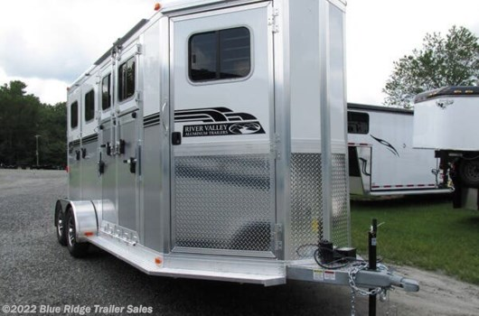 "2 Horse Trailer - 2020 River Valley 2H BP w/dress and side ramp 7'6""x6'8"" available New in Ruckersville, VA"
