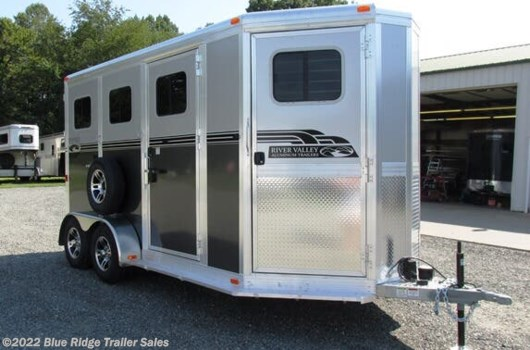 "2 Horse Trailer - 2020 River Valley 2H BP w/5' Dress 7'6""x6'8"" available New in Ruckersville, VA"