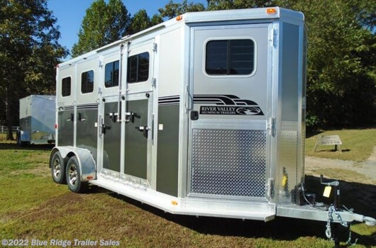 "2 Horse Trailer - 2020 River Valley 2H BP w/Side Ramp and Dress 7'6""x6'8"" available New in Ruckersville, VA"