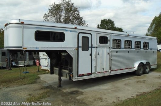 5 Horse Trailer - 1999 Collin-Arndt Trailer 5H GN Slant w/Dress 3 1/2' SW, 7'x7' available Used in Ruckersville, VA