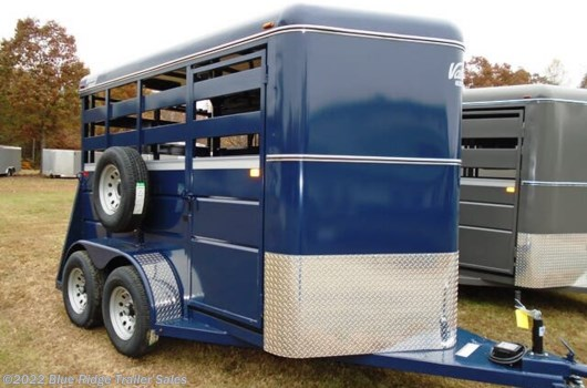 2 Horse Trailer - 2020 Valley Trailers 7'x6' Stock with Single Rear Door and Slider available New in Ruckersville, VA
