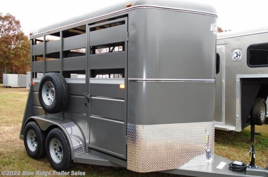 "2 Horse Trailer - 2020 Valley Trailers 7'6""x6' Stock with Double Doors available New in Ruckersville, VA"