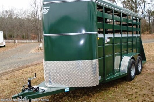 Livestock Trailer - 2020 Valley Trailers 16' BP 7'x6', Single Rear Door w/Slider available New in Ruckersville, VA