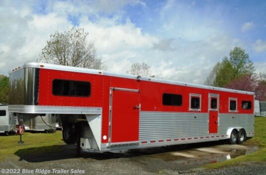 6 Horse Trailer - 2011 Adam 6H GN Head to Head w/Dress 8'x8' available Used in Ruckersville, VA