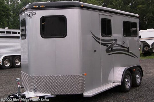 "2 Horse Trailer - 2020 Hawk Trailers 2H BP w/5ft Dress, 7'6""x6'8"" available New in Ruckersville, VA"