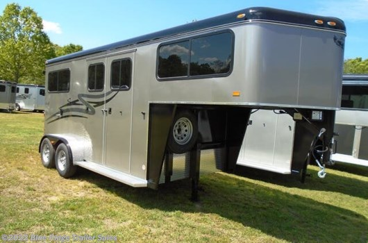 "2 Horse Trailer - 2020 Hawk Trailers 2H GN w/4ft Dress 7'6""x6'8"" available New in Ruckersville, VA"