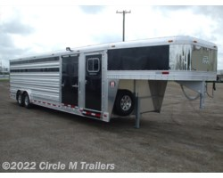 #3128SC7 - 2017 Platinum Coach 28' Show Cattle Slider in Gates + Dressing Room
